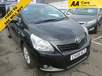 USED 2009 59 TOYOTA VERSO 5 SEATER 1.6 TR  5d 130 BHP
