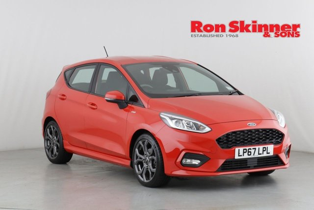 View our 2018 67 FORD FIESTA 1.0 ST-LINE 5d 99 BHP
