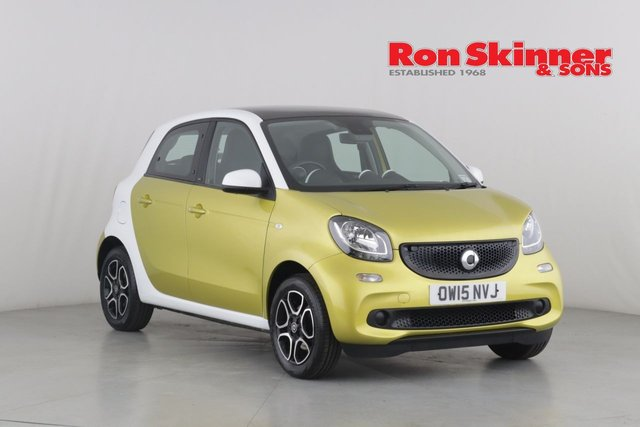 View our 2015 15 SMART FORFOUR 1.0 PRIME PREMIUM 5d 71 BHP