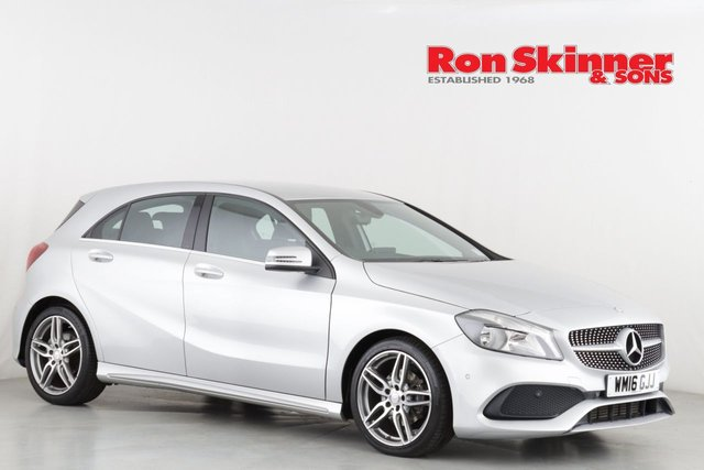 View our 2016 16 MERCEDES-BENZ A-CLASS 1.5 A 180 D AMG LINE EXECUTIVE 5d 107 BHP