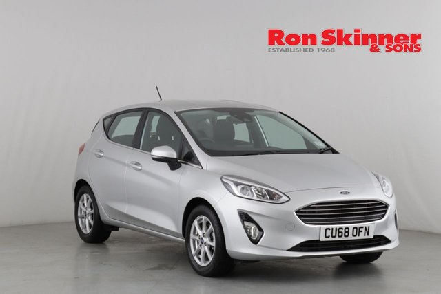 View our 2018 68 FORD FIESTA 1.0 ZETEC 5d 99 BHP