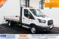 USED 2017 67 FORD TRANSIT 2.0 350 L4 129 BHP SINGLE CAB DROPSIDE * EURO 6 *