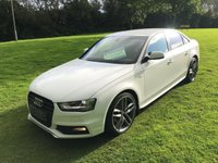 USED 2012 62 AUDI A4 2.0 TDI QUATTRO BLACK EDITION 4d 174 BHP **EXCELLENT FINANCE PACKAGES**QUATTRO BLACK EDITION**XENON HEADLIGHTS**4WD**