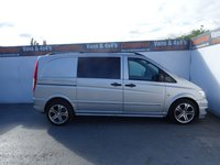 USED 2013 63 MERCEDES-BENZ VITO 3.0 122 CDI DUALINER 1d AUTO 224 BHP MERCEDES VITO .. VERY RARE MODEL ..FULLY LOADED