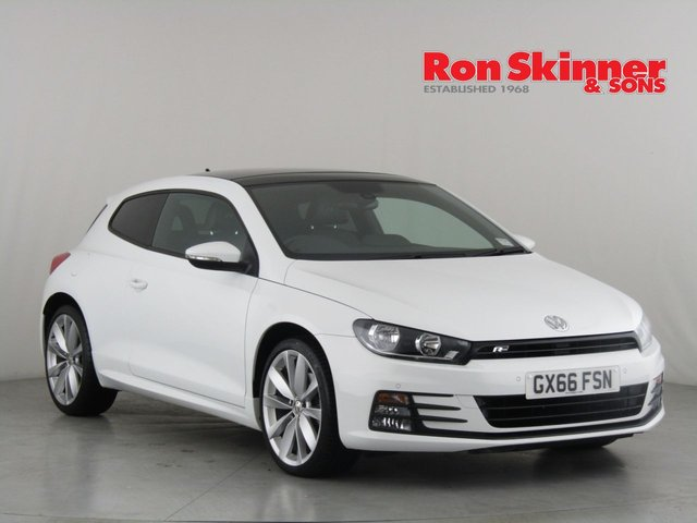 View our 2016 66 VOLKSWAGEN SCIROCCO 2.0 R LINE TSI BLUEMOTION TECHNOLOGY DSG 2d AUTO 178 BHP