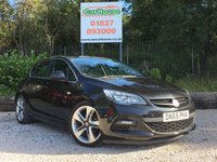 USED 2015 65 VAUXHALL ASTRA 1.6 LIMITED EDITION 5dr Full Leather, 19 Inch Alloys