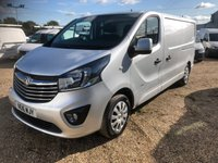 USED 2016 16 VAUXHALL VIVARO 1.6 2900 L2H1 CDTI P/V SPORTIVE ECOFLEX S/S 1d 118 BHP ONE OWNER * 79000 MILES FULL SERVICE HISTORY * AIR/CON * CRUISE CONTROL