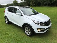 USED 2012 61 KIA SPORTAGE 1.7 CRDI 2 5d 114 BHP **EXCELLENT FINANCE PACKAGES**SERVICE HISTORY**PANORAMIC ROOF**