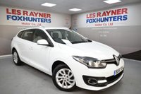 USED 2015 15 RENAULT MEGANE 1.5 EXPRESSION PLUS ENERGY DCI S/S 5d 110 BHP Free road tax, Reverse sensors, Cruise control, Bluetooth