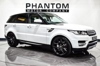 USED 2015 15 LAND ROVER RANGE ROVER SPORT 3.0 SDV6 HSE 5d AUTO 306 BHP