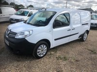 USED 2015 64 RENAULT KANGOO MAXI 1.5 LL21 CORE DCI 1d 110 BHP RARE 110HP 6 SPEED * AIR/CON * SAT/NAV *QUALITY RACKING SYSTEM