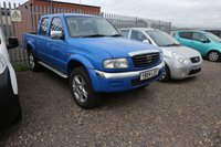 USED 2004 04 MAZDA B SERIES 2.5 B2500 DCB 4X4 1d  *PX CLEARANCE - NOT INSPECTED - NO WARRANTY - NOT AVAILABLE ON FINANCE - NO PX TAKEN*