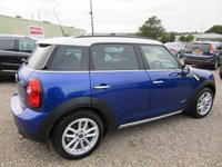 USED 2014 64 MINI COUNTRYMAN 1.6 COOPER D ALL4 5d 112 BHP CHILI PACK 1 PREV OWNER £5280 OF OPTIONS
