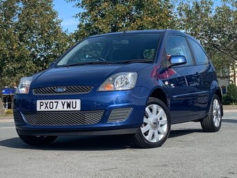 2007 FORD FIESTA 1.4 SILVER LIMITED 3d 68 BHP £2295.00