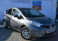 USED 2014 14 NISSAN NOTE 1.2 Petrol ACENTA PREMIUM 5d MPV Very Low Mileage with Great High Spec Recent Service MOT and Ready to Finance and Drive Away Today ** LOW MILEAGE FOR AGE**