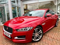 USED 2015 65 JAGUAR XE 2.0 R-SPORT 4d AUTO 178 BHP A Stunning One Owner Car - Features Include an 18 Inch Wheel Upgrade, Navigation, Bluetooth Audio Streaming, Digital Climate Control, Cuise Control, Park Assist - Plus Reverse Camera and Full Leather Upholstery