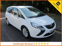 USED 2013 VAUXHALL ZAFIRA TOURER 2.0 SE CDTI 5d 162 BHP Fantastic Automatic  Zafira Tourer SE with Very Low Mileage, Half Leather Seats,  Seven Seats, Climate Control,  Cruise Control, Alloy Wheels and Service History.