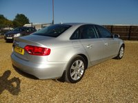 USED 2011 11 AUDI A4 2.0 TDI QUATTRO TECHNIK 4d 168 BHP MOT 5th October 2020 (No Advisories)... 170 BHP 'Quattro'... Full Black Leather Interior... SatNav... Bluetooth... DAB Radio... Bang and Olufsen Speakers... Front and Rear Parking Sensors... Cruise Control... Warranty with Recovery Included... Finance Available - Apply directly from my website.