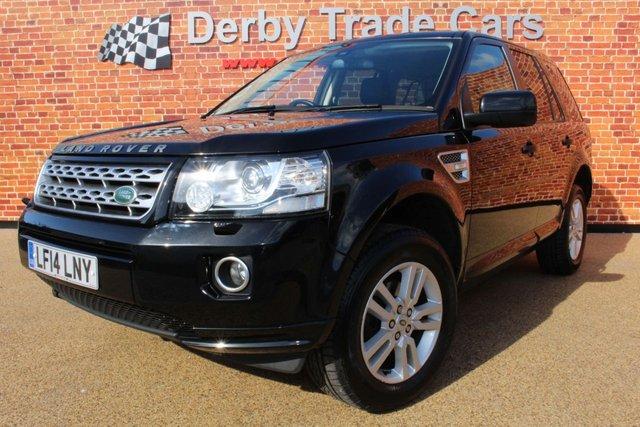 LAND ROVER FREELANDER at Derby Trade Cars