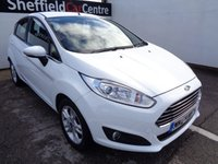 USED 2014 64 FORD FIESTA 1.0 ZETEC 5 door  99 BHP white £160 A MONTH BLUETOOTH  SOUGHT AFTER CAR AND COLOUR HEATED WINDSCREEN PRIVACY GLASS ALLOY WHEELS