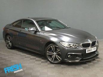 2015 BMW 4 SERIES 3.0 430D XDRIVE M SPORT 2d £19500.00