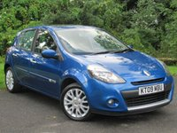 USED 2009 09 RENAULT CLIO 1.1 DYNAMIQUE TCE 5d * 12 MONTHS FREE AA MEMBERSHIP *  SERVICE HISTORY *