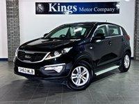 2013 KIA SPORTAGE 1.6 1 Eco Dynamics 5dr £6690.00