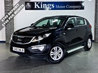 USED 2013 63 KIA SPORTAGE 1.6 1 Eco Dynamics 5dr 1 Owner, FSH, Drive away Today ! BALANCE OF 7 YEAR WARRANTY