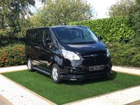 USED 2016 16 FORD TRANSIT CUSTOM 2.2 290 LIMITED LR DCB 1d 124 BHP AN EYE CATCHING  EXAMPLE OF THIS POPULAR SIX SEAT TRANSIT CUSTOM WITH COLOUR CODED BODY KIT AND A FIXED REAR BULKHEAD FRONT AND REAR PARK DISTANCE CONTROL + OPTICAL PARK 16 INCH ALLOY WHEELS SIDE STEPS