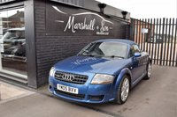 USED 2005 05 AUDI TT 3.2 ROADSTER V6 QUATTRO 2d DSG AUTO 247 BHP STUNNING CONDITION - WHAT AN ENGINE! - 9 STAMPS TO 89K - FULL NAPPA LEATHER - BOSE SPEAKERS
