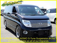 2004 NISSAN ELGRAND Highway Star 3.5 Auto,8 Seats, 67K,Power Door,Front and Rear Camera £7500.00