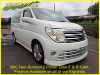 2005 NISSAN ELGRAND Rider 3.5S  Auto, 8 Seats, Twin Sunroof, 56K,Front and Rear Camera £8000.00
