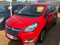 USED 2015 64 VAUXHALL MERIVA 1.4 TECH LINE 5d 99 BHP One Owner Car Full Dealer Service History  JUST ARRIVED AWAITING PHOTOS AND VIDEO AND WAITING TO BE CLEANED NEED ANYMORE INFORMATION PLEASE GIVE US A CALL ON 01536 402161
