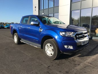 2016 FORD RANGER 2.2 LIMITED 4X4 DOUBLE CAB TDCI 160 PS £13995.00