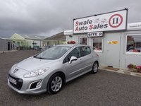 USED 2013 62 PEUGEOT 308 1.6 HDI ACTIVE 5 DOOR 92 BHP £21 PER WEEK, NO DEPOSIT - SEE FINANCE LINK