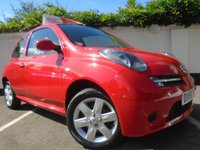 2006 NISSAN MICRA 1.2 ACTIV LIMITED EDITION RED 3d 80 BHP £SOLD