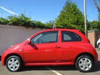 USED 2006 56 NISSAN MICRA 1.2 ACTIV LIMITED EDITION RED 3d 80 BHP GUARANTEED TO BEAT ANY 'WE BUY ANY CAR' VALUATION ON YOUR PART EXCHANGE