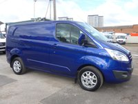 USED 2014 64 FORD TRANSIT CUSTOM 270 LIMITED LOW ROOF, 124 BHP [EURO 5]