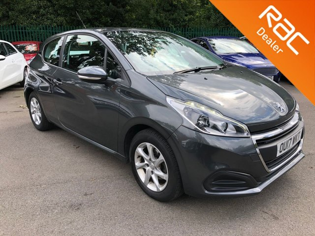 USED 2017 17 PEUGEOT 208 1.2 ACTIVE 3d 82 BHP Cheap To Tax! Cruise Control, Alloy Wheels, Touchscreen Display