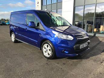 2016 FORD TRANSIT CONNECT 1.5 240 LIMITED PANEL VAN 120PS £10995.00