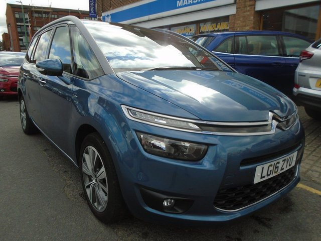 2016 16 CITROEN C4 GRAND PICASSO 1.6 BLUEHDI EXCLUSIVE PLUS 5d AUTO 118 BHP ULEZ EXEMPT