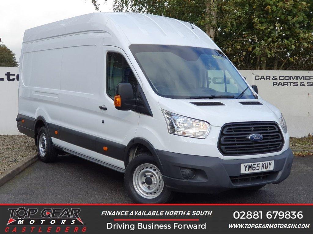 USED 2016 65 FORD TRANSIT 350 RWD 2.2 155 BHP L4 H3 JUMBO**OVER 85 VANS IN STOCK**