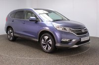 USED 2015 65 HONDA CR-V 1.6 I-DTEC EX 5DR 158 BHP SAT NAV HEATED LEATHER FULL HONDA SERVICE HSITORY + HEATED LEATHER SEATS + SATELLITE NAVIGATION + REVERSE CAMERA + PARKING SENSOR + PANORAMIC ROOF + BLUETOOTH + CRUISE CONTROL + CLIMATE CONTROL + MULTI FUNCTION WHEEL + ELECTRIC/MEMORY SEATS + PRIVACY GLASS + XENON HEADLIGHTS + ELECTRIC WINDOWS + ELECTRIC MIRRORS + 18 INCH ALLOY WHEELS