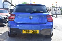 USED 2014 14 BMW 1 SERIES 2.0 118D M SPORT 5d AUTO 141 BHP COMES WITH 6 MONTHS WARRANTY