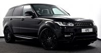 "USED 2016 66 LAND ROVER RANGE ROVER SPORT 3.0 SD V6 HSE 4X4 (s/s) 5dr  Pan Roof, Stealth Pack, 22""s +"