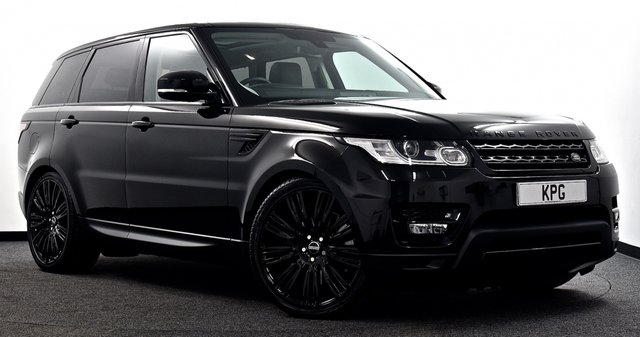 """USED 2016 66 LAND ROVER RANGE ROVER SPORT 3.0 SD V6 HSE 4X4 (s/s) 5dr  Pan Roof, Stealth Pack, 22""""s +"""