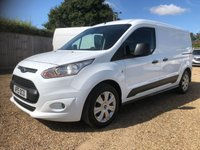 USED 2015 15 FORD TRANSIT CONNECT 1.6 210 TREND P/V 1d 94 BHP L2 H1 LWB TREND * 3 SEATS * 6 MAIN DEALER SERVICE STAMPS * ONE OWNER FROM NEW