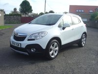 USED 2014 14 VAUXHALL MOKKA 1.7 EXCLUSIV CDTI S/S 5d 128 BHP ///  LOW MILEAGE EXAMPLE  ////