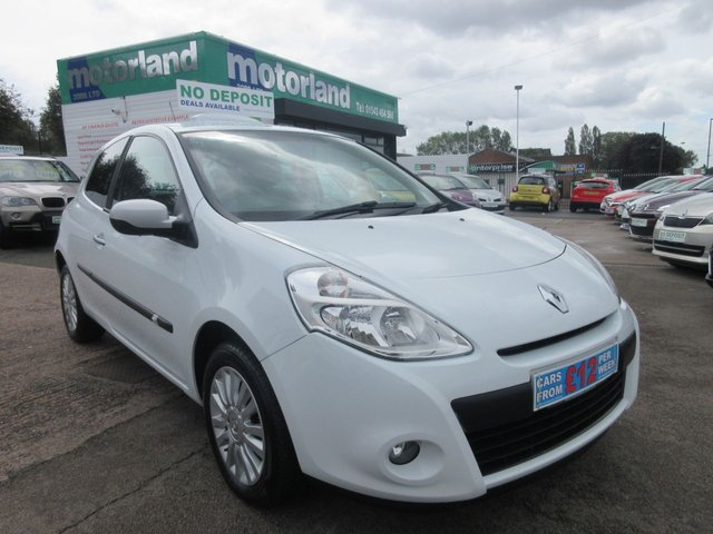 USED 2010 10 RENAULT CLIO 1.1 I-MUSIC 16V 3d 74 BHP ** 01543 454566 ** JUST ARRIVED **