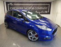 USED 2015 64 FORD FIESTA 1.6 ST-3 3d 180 BHP + SERVICE HISTORY + SAT NAV + LEATHER